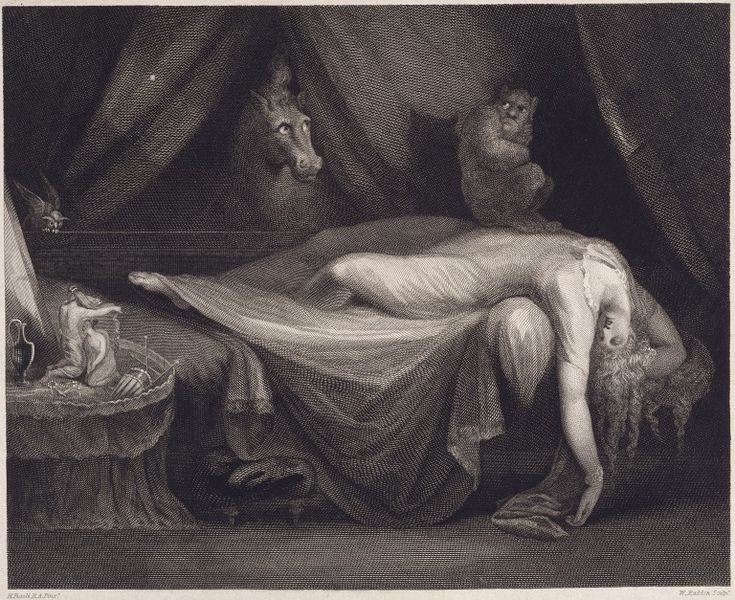 The nightmare fuseli henry v amp a search the collections