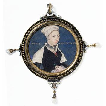 Portrait miniature - Mrs Jane Small, formerly Mrs Pemberton