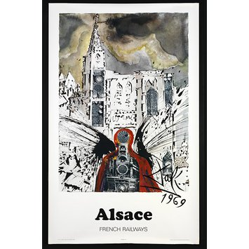 Poster - Alsace, French Railways