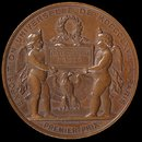 Paris Universal Exhibition of 1867 - Napoleon III (Medal)