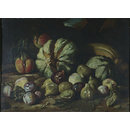 Still life: melons and figs (Oil painting)