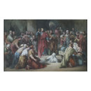 The Raising of Lazarus (Watercolour)