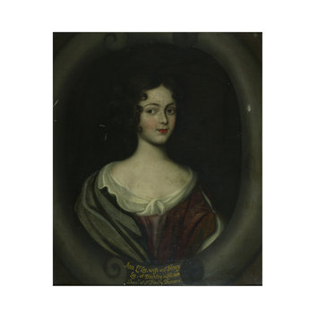 Oil painting - Ann Lee, wife of Sir Henry Lee of Ditchley