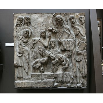 Plaster cast - The Raising of Lazarus
