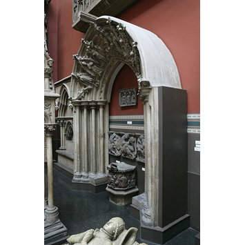 Plaster cast - The Prior's Door