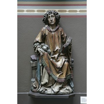 Plaster cast - St Stephen