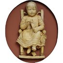 A Child (probably the artist's sister, Mary Ann) (Relief)