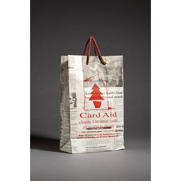 Carrier bag - Card Aid carrier bag