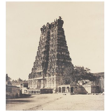 Photograph - The East Gopuram of the Great Pagoda
