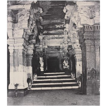 Photograph - Entrance to the thousanded pillared Mundapam in the great Pagoda