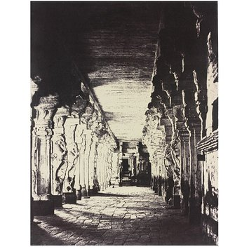 Photograph - The outer Prakurum, or corridor around the the Temple of the god Sundareshawara