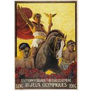 XXeme Anniversaire du Retablissement des Jeux Olympiques, 1894-1914 (Poster)