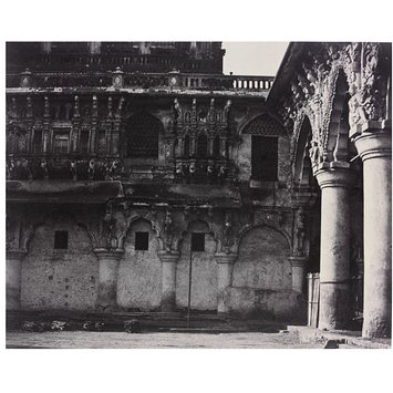 Photograph - South Facade of the Quadrangle of the Nayakar Durbar Hill