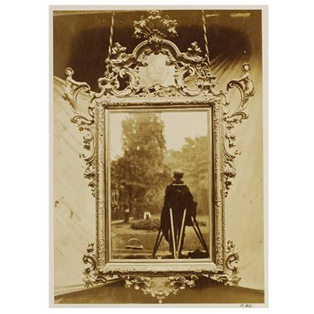Photograph - Venetian mirror circa 1700, from the collection of Mr. John Webb