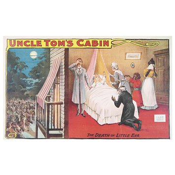 Poster - Uncle Tom's Cabin / The Death of Little Eva