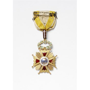 Decoration - Royal American Order of Isabella the Catholic