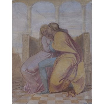 Fresco - Paolo and Francesca