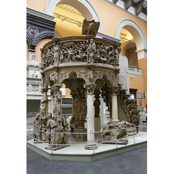 Plaster cast - Pulpit