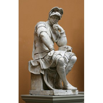 Plaster cast - Lorenzo de'Medici, Duke of Urbino