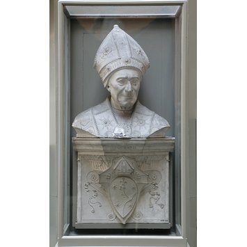 Plaster cast - Tomb of Bishop Leonardo Salutati