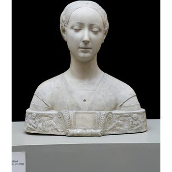 Plaster cast - Bust of a Woman