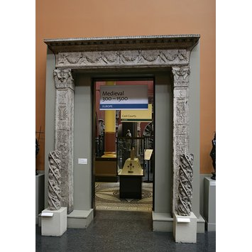 Plaster cast - Doorway