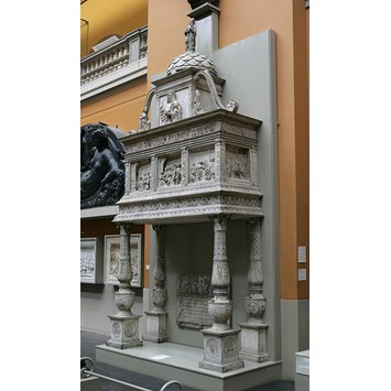 Plaster cast - Monument of Jacopo Stefano Brivio