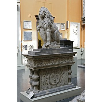 Plaster cast - Marzocco lion