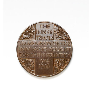 Medal - Inner Temple / First World War