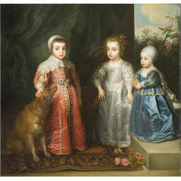 Oil painting - The Children of Charles I