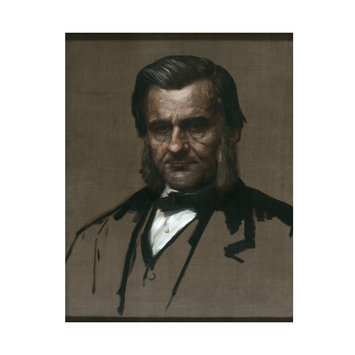 Oil painting - Thomas Huxley, FRS