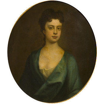 Oil painting - Portrait of a Lady