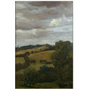 Hilly Landscape (Oil painting)
