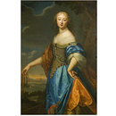 Portrait of a Lady called Jeanne de Marigny (Oil painting)
