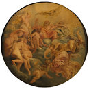 Mercury conducting Psyche to Olympus (Oil painting)
