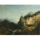 A View in the Tyrol (Oil painting)