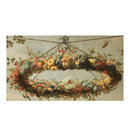 A wreath of fruit, with birds, suspended from a cord (Oil painting)