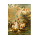 Youth on the Prow, and Pleasure at the Helm (after William Etty) (Oil painting)