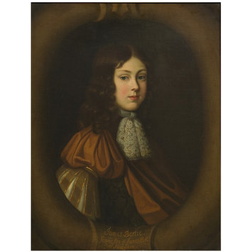 Oil painting - James Bertie, Second Son of James, Earl of Abingdon