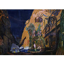 Scene from Le Dieu Bleu (Painting)