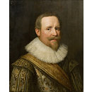 A Man wearing a ruff (Oil painting)