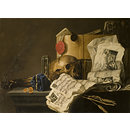 Vanitas Still Life (Oil painting)