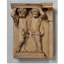 Cupids as Caryatids (Relief)