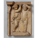 Cupids as Caryatids; Putti supporting an architrave (Relief)