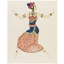 Design for costune: Dancer in 'Phi-Phi' (Design)