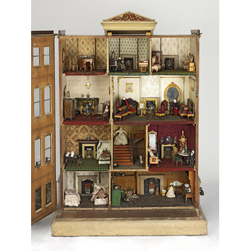 Dolls' house - The Henriques House