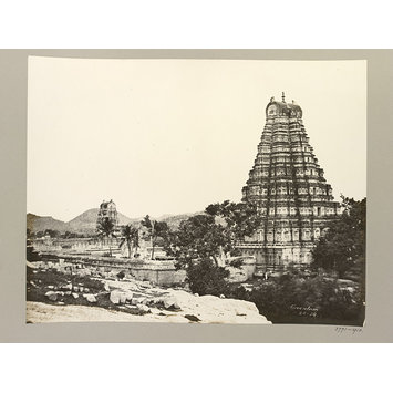 Photograph - Hampi (Vijayanagar) Bellary District: Virupaksha Temple Complex.
