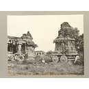 Hampi (Vijayanagar) Bellary District: Garuda Temple and Maha Mandapa, Vitthala Temple Complex. (Photograph)