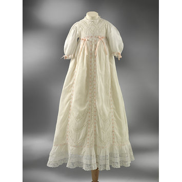 Christening gown and petticoat