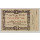 Judas Maccabaeus (Admission Ticket)